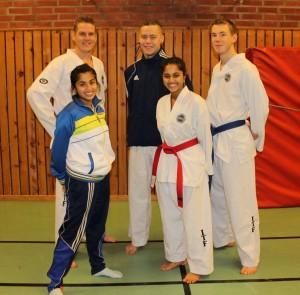 Deltagare som åker till SM 2012